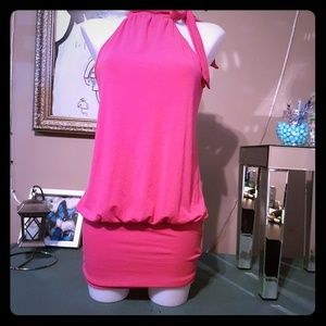GUESS SIZE SMALL HALTER DRESS